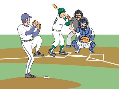 Baseball live broadcast 1