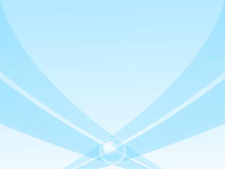 Light blue ribbon background
