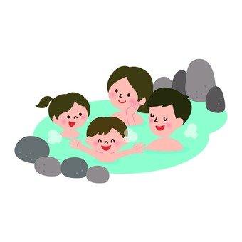 A family spa