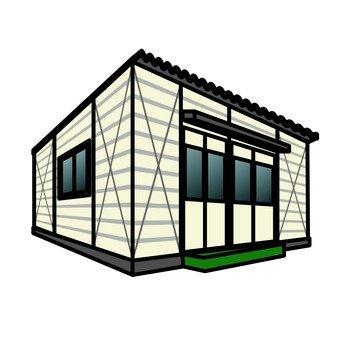 Container hut