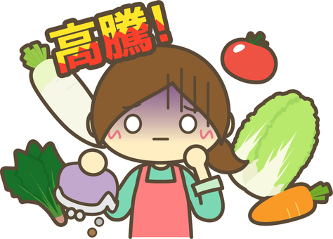 Housewife who is pale with no money due to soaring vegetables _ Soaring