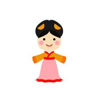 Hanbok women 2
