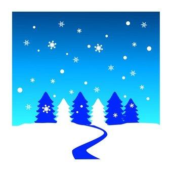 눈이 내리는 밤