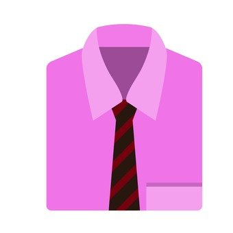 Ties and shirts (pink)