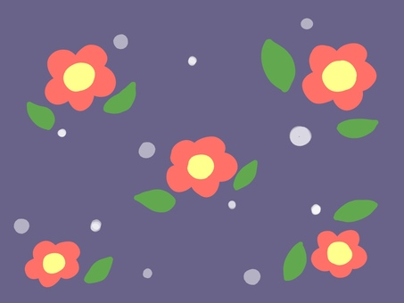 Japanese style floral pattern