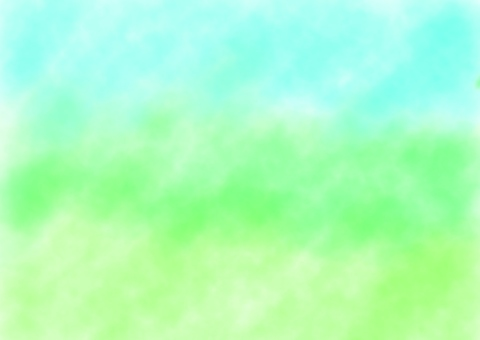 Watercolor green gradient