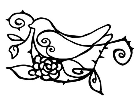 Bird motif