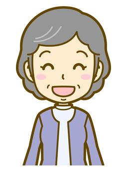 Female (elderly): B_wait 02BS