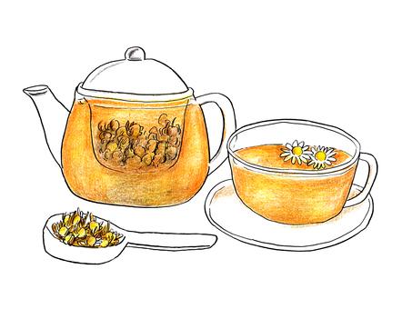 Chamomile tea 04