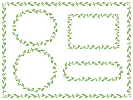 Pattern brush (leaf)
