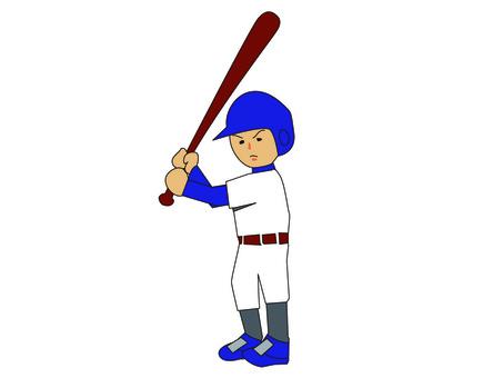 Sports boy baseball batter