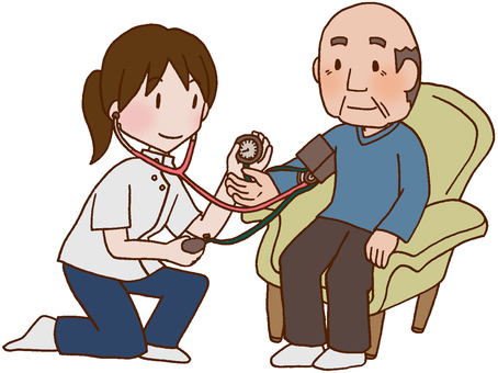 [Rehabilitation] Blood pressure measurement