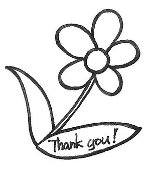 thank you Flower message