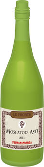 Wine bottle (white)