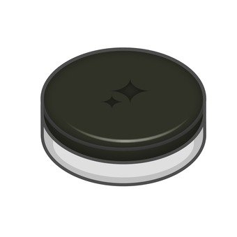 Flat case black