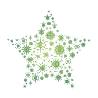 Snow crystal star 6