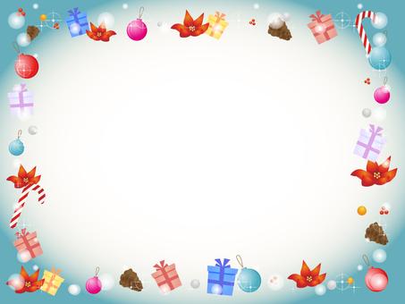 Christmas motif decorative frame 3