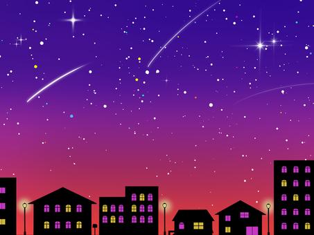 Cityscape Background Night