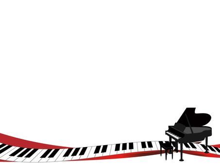 Piano decorative frame 4