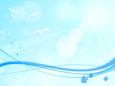 파도와 하늘