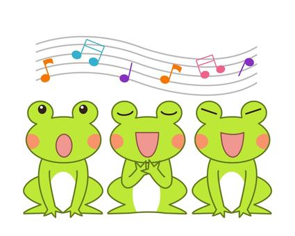 Frogs who chorus
