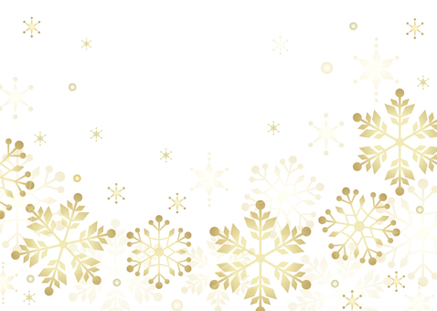 Snow crystal background image