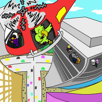 Animal building city