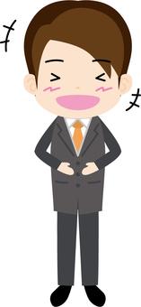 Salary man (laughter)