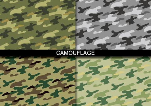 Camouflage handle
