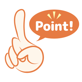 Illustration pointing finger icon point fingertip attention