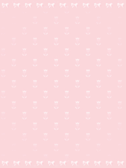 Tulip and ribbon background