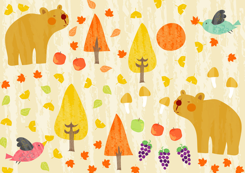 Mountain of autumn