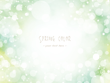 Spring color frame ver07