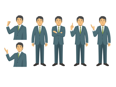 Businessman - set 2