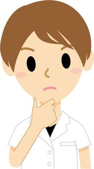 생각 남성 3 (의사)