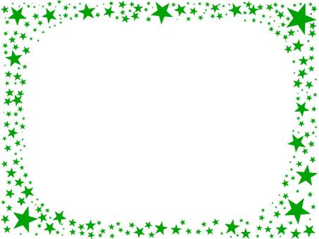 Star frame green