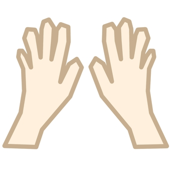 Hand and hand ①