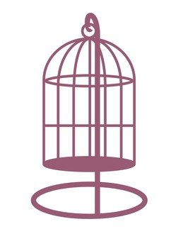Cage basket (with stand)