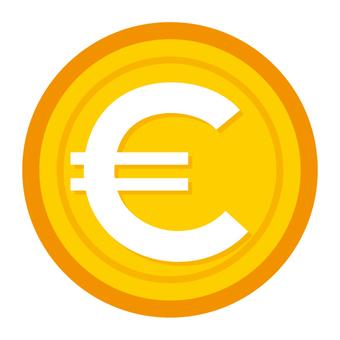 Euro Coin Medal Illustration