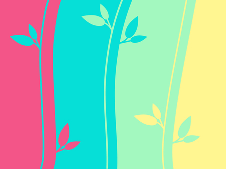 "Background image ""colorful plants"""