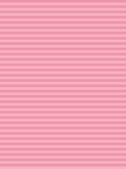 【Background Vertical】 Pink Horizontal Stripe