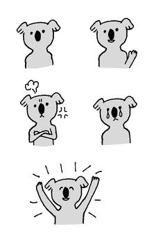 Koala's emotions