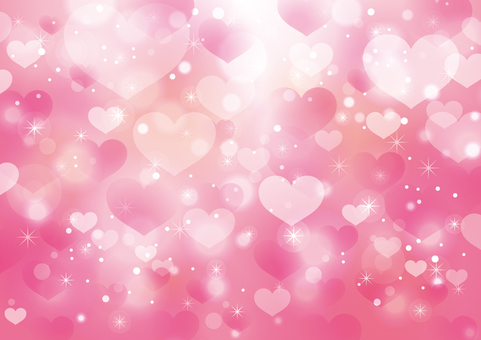 Heart and sparkling background 09