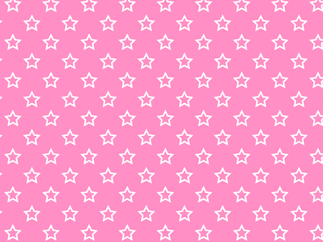 ai hollow star pattern with swatch background pink