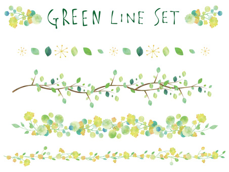 New green line set ver 01