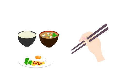 How to hold chopsticks
