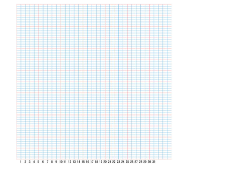 One grid paper which can be used one by one
