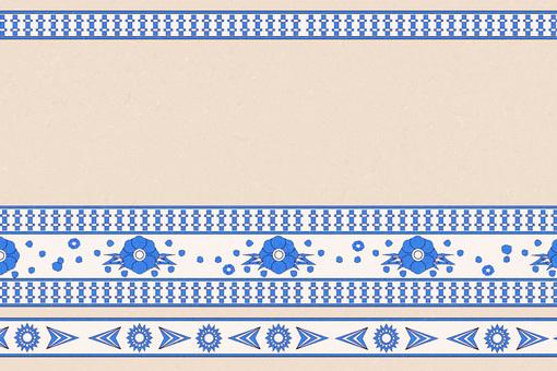 Turkish Style Pattern Wallpaper ①