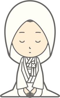 White Nonseron - Kaori Oshima - whole body