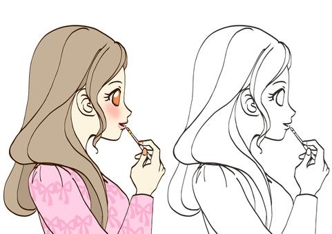 Makeup (lip)